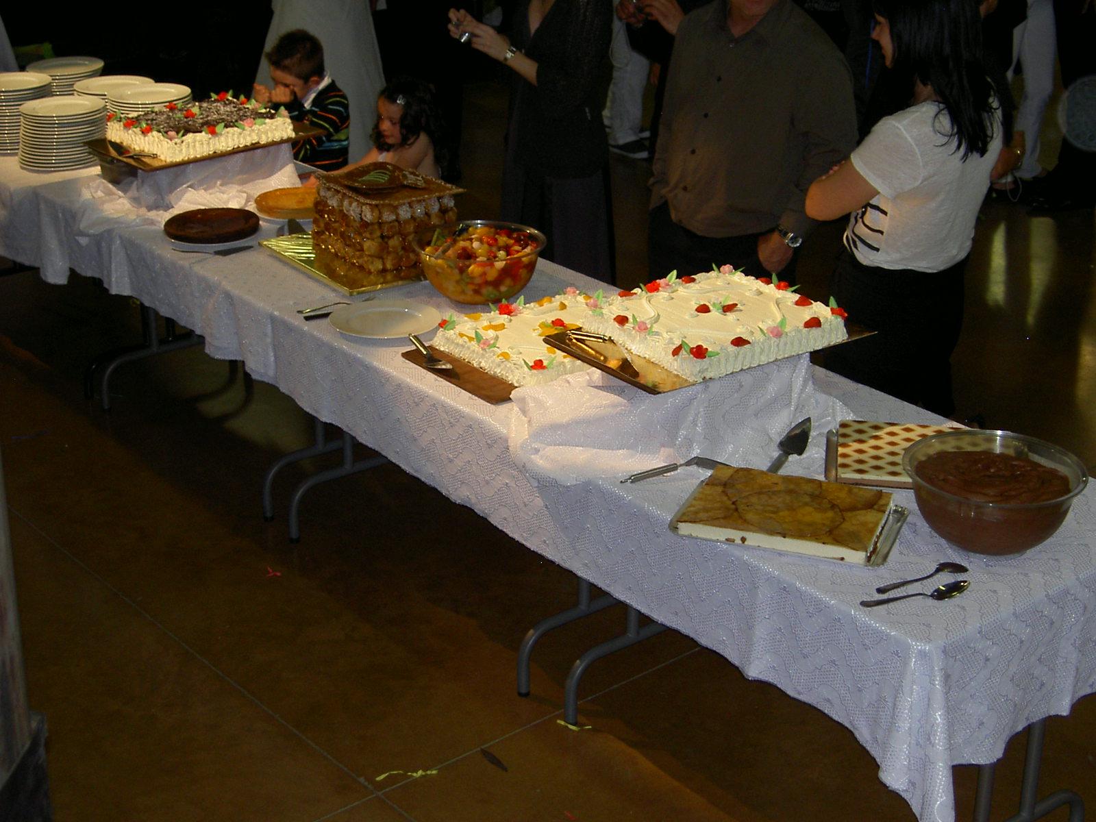 Buffet dessert Cublac
