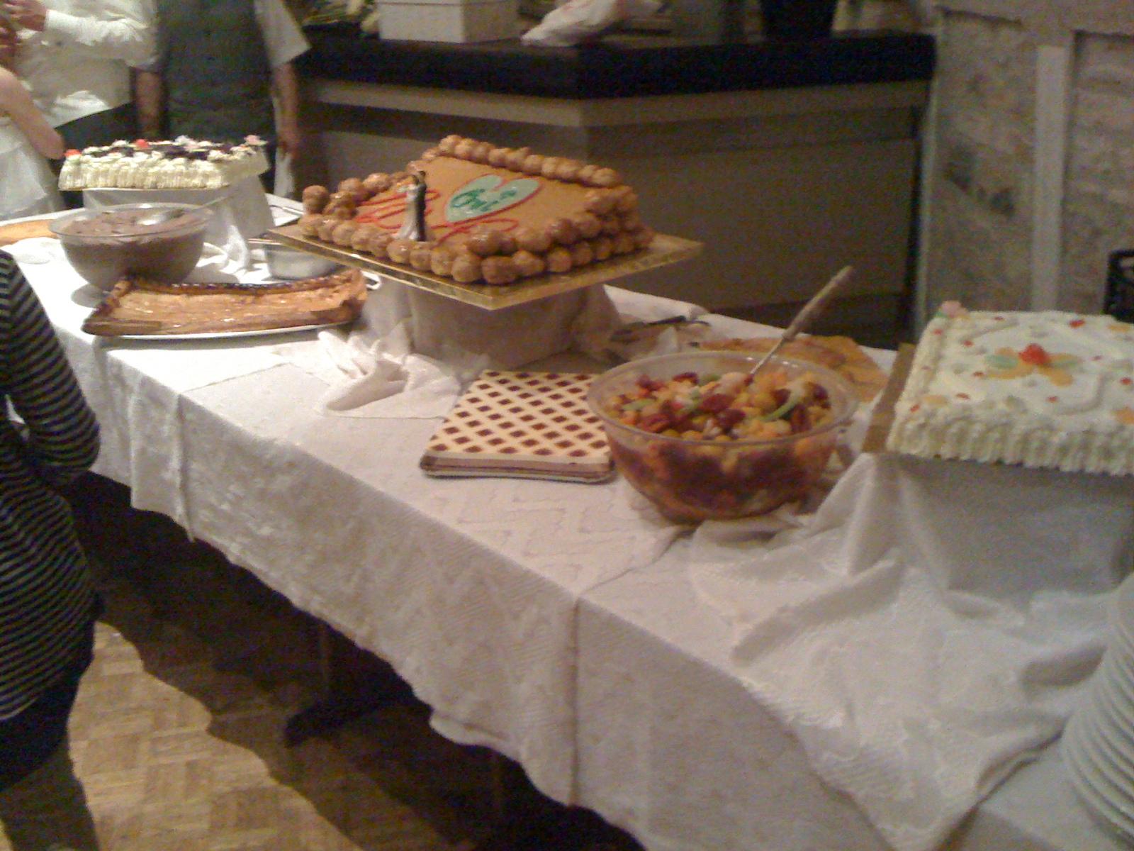 B uffet desserts